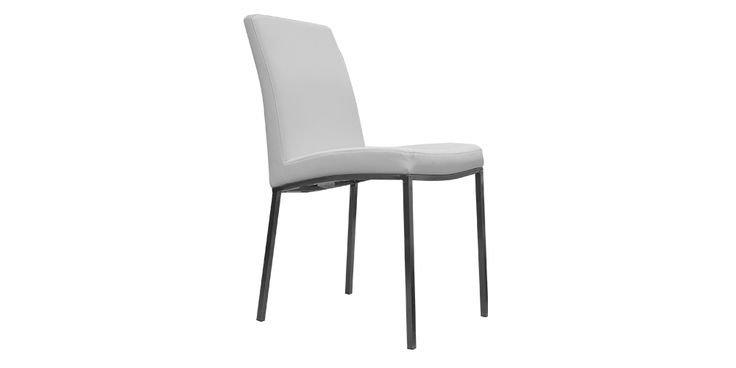 Milton Dining Chair Milton Dining Chair from Hunter Furniture. Available in black or white.   A clean, elegant design that will match with a variety of dining tables in your dining or Kitchen area.