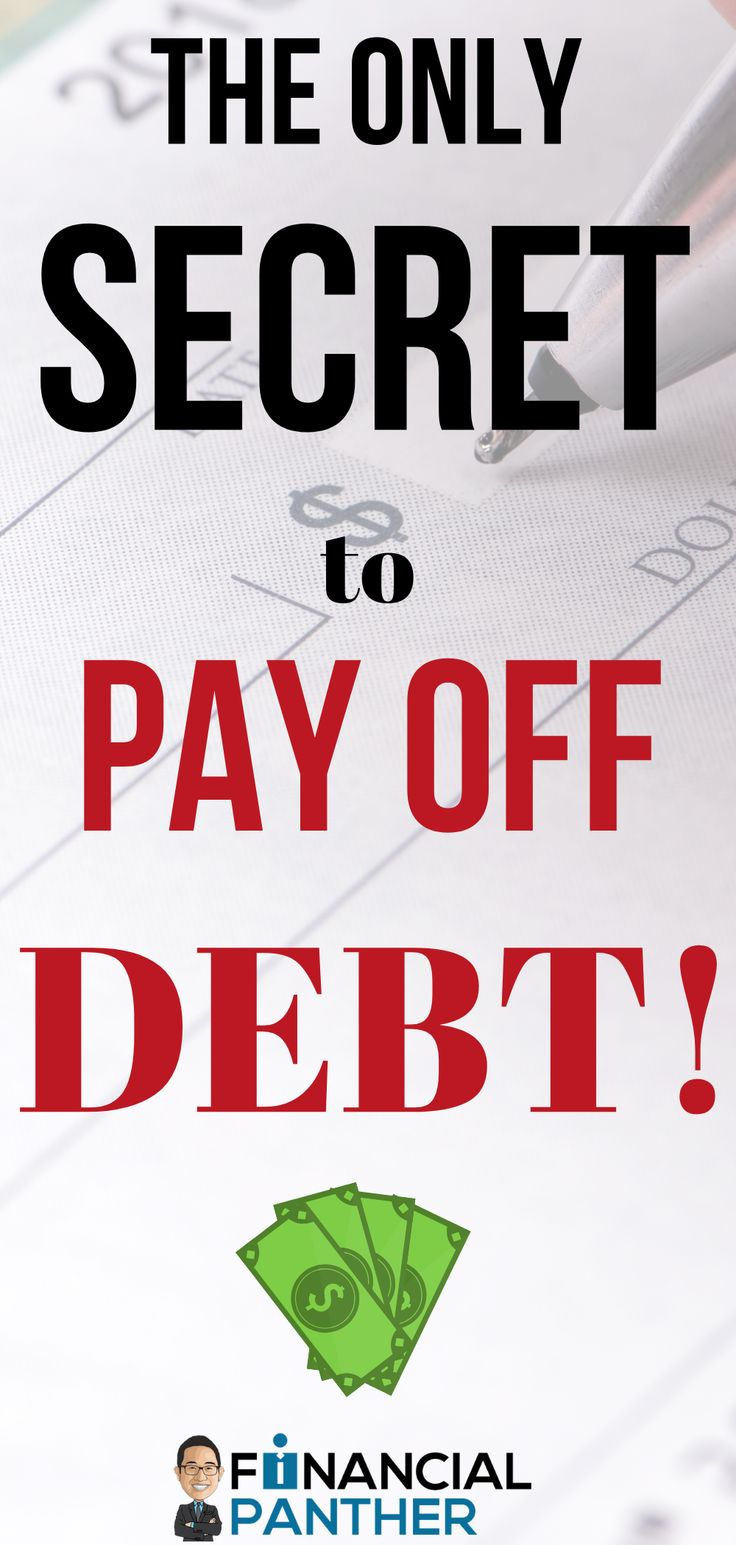PAY OFF DEBT! The ONLY Secret You Need!