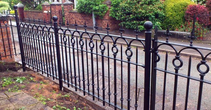 Wrought iron work, metalworking & blacksmith - Gates & Railings Gallery