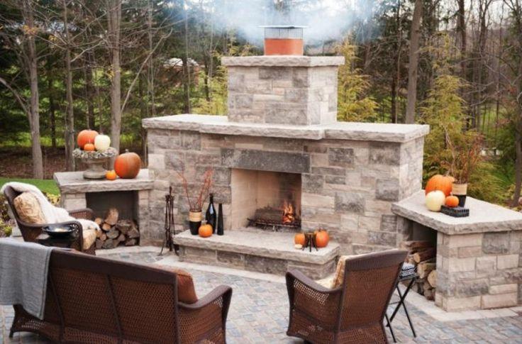 Best 25 cinder block walls ideas on pinterest for Blocked fireplace ideas