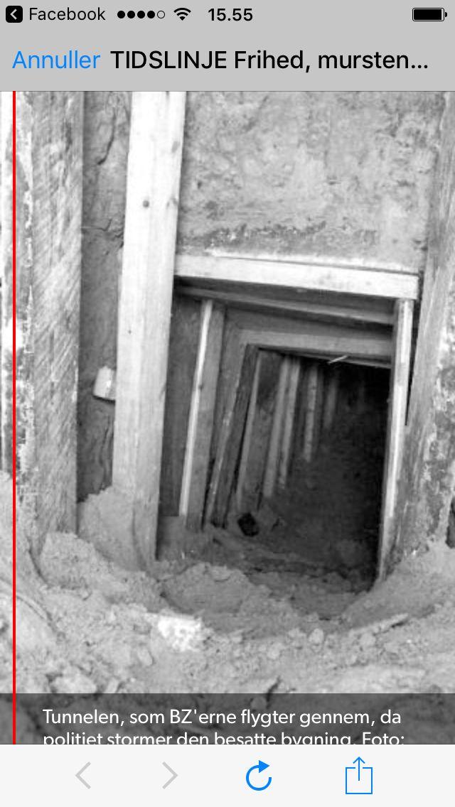 Tunnelen under Korsgade, 1982, 1983.