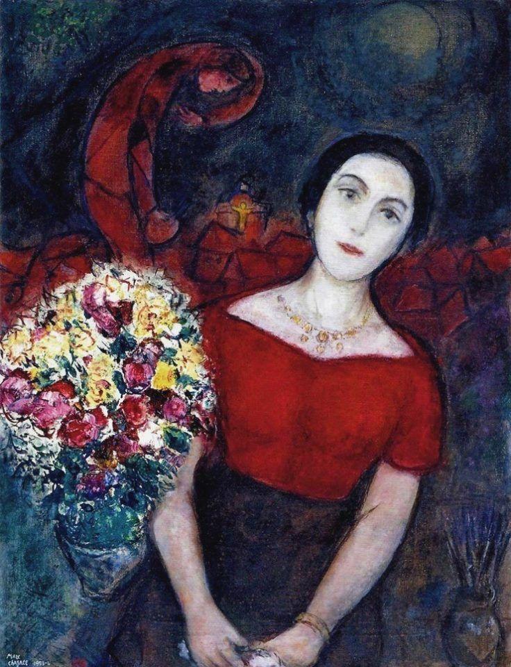 Les 36 meilleures images du tableau chagall sur pinterest for Chagall tableau
