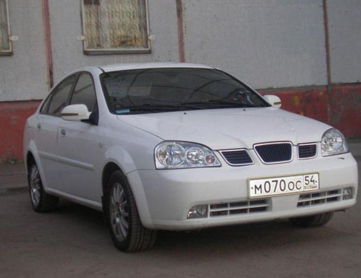 Chevrolet Lacetti Specifications - http://autotras.com