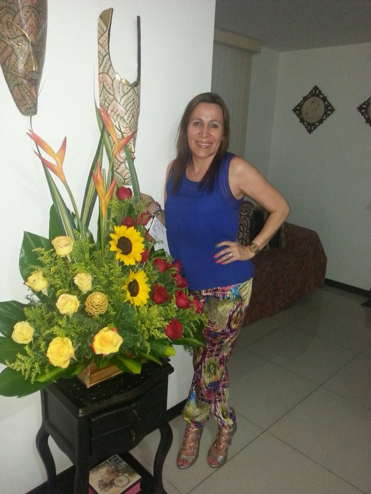 Gracias Stella por sus flores hermosas 😊