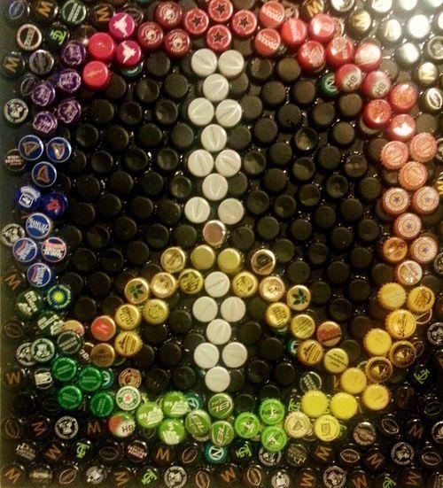 Best images about beer bottle cap crafts on pinterest