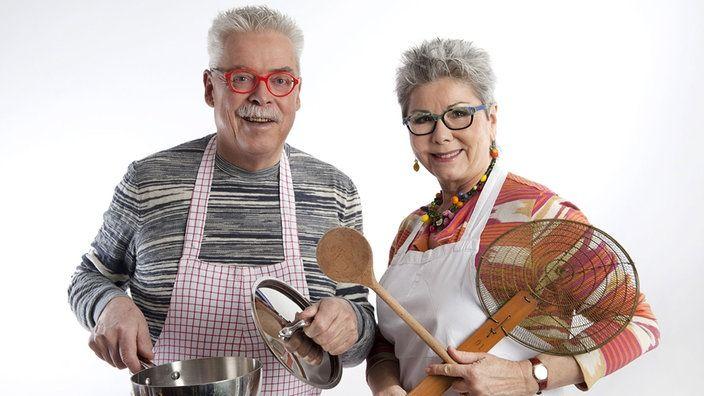 Martina Meuth und Bernd Neuner-Duttenhofer in ihrer Küche | Bildquelle: wdr