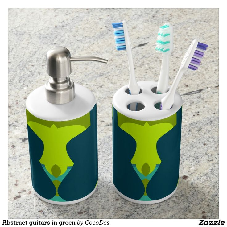 #Promo: 25% OFF Use Code: MEMORIALSALE Customize your #bathroom with a beautiful #toothbrush holder and #soap #dispenser. Perfect for #guitar players and #music #fans.