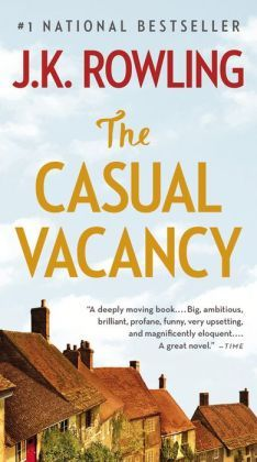 The Casual Vacancy by JK Rowling - if you want an easy read, this is NOT the book for you. If you want a book that explores the complexity of the human condition, don't miss this one!. MUST TRY THIS ONE.