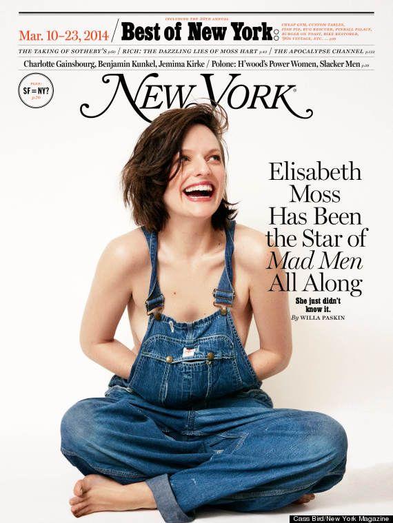 Elisabeth Moss for New York Mag