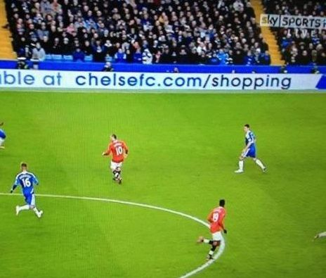 Chelsea In game advertising doesn't come cheap... probably worth running it through a spell checker first!