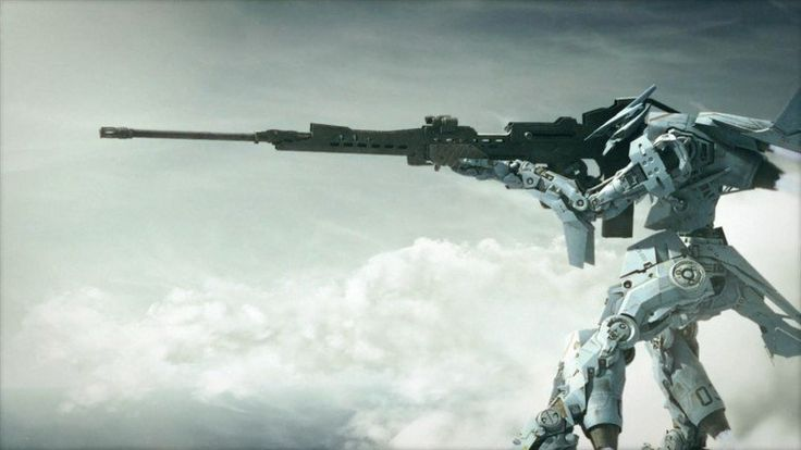 Image result for sci-fi sniper