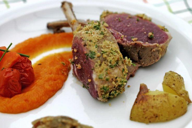 Lamsvlees met groenten en auberginepuree | www.keukenrevolutie.be