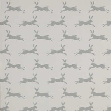 Jane Churchill march hares wallpaper