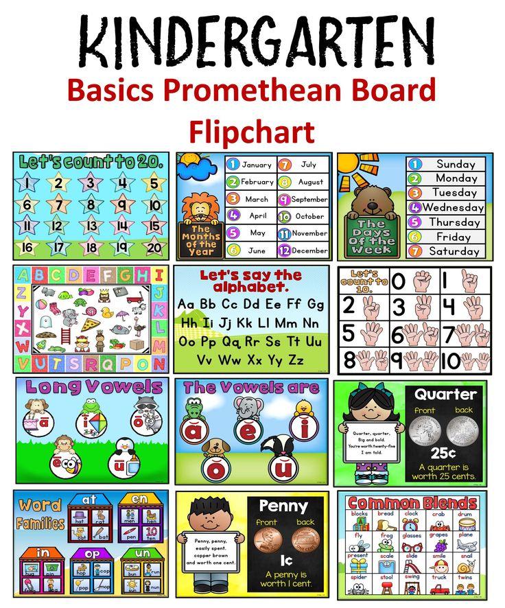 Kindergarten Calendar Flip Chart : Flip charts for smartboards best active board