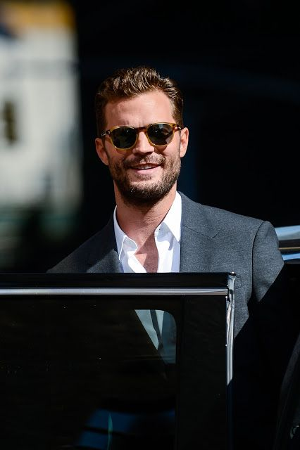 Jamie Dornan Life: New HQ Pictures of Jamie Leaving After Taping The ...