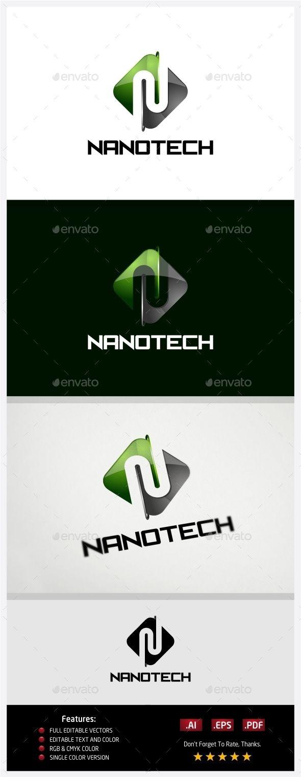 Nano Technology  Logo Design Template Vector #logotype Download it here: http://graphicriver.net/item/nano-technology-logo/10430583?s_rank=1462?ref=nesto