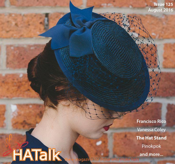 HATalk e-magazine - Downloadable monthly millinery magazine