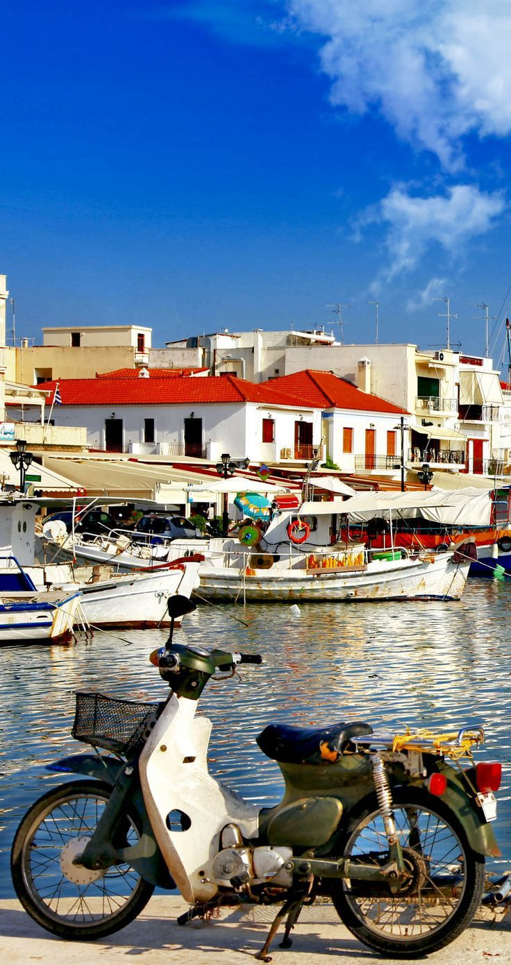 Greece Travel Inspiration - Colorful Aegina island, Greece  25 Gorgeous Pictures Of Greece That Will Take Your Breath Away
