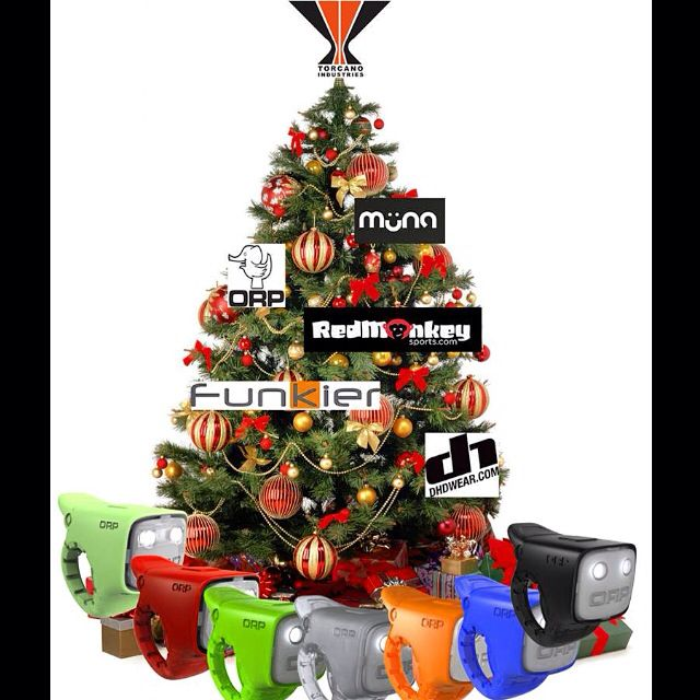 Happy Holidays from Torcano Industries!  Best wishes and a big thank you to all the retailers, media outlets, industry colleagues, friends and family who have supported us and our brands this year. We couldn't do any of this without your support!!! Here's to an even better 2015!!! #torcanoindustries #orp #muna #redmonkeysports #funkier #dhdwear #ohchristmastree #holiday #wishes #fixie #mtb #commuter #bikesafety #gear
