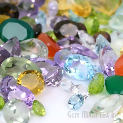 Visit us @ http://sparkleandshinejewellers.com for more high quality gems at great prices. For featured items visit and like our Facebook page www.facebook.com/shopping.sparkleandshine 25 CARAT MIX GEM LOT LOOSE GEMSTONE NATURAL FACETED MIXED GEMS WHOLESALE GEM