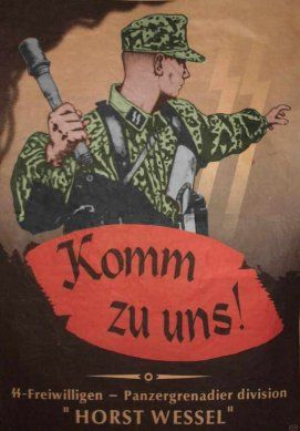 "German  WW2  ""Come to us""  Waffen SS"