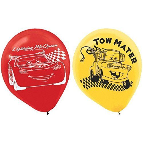 AmscanDisney Cars Formula Racer Birthday Party Printed Balloons Decoration (6 Pack), 12', Bright Red. #AmscanDisney #Cars #Formula #Racer #Birthday #Party #Printed #Balloons #Decoration #Pack), #Bright