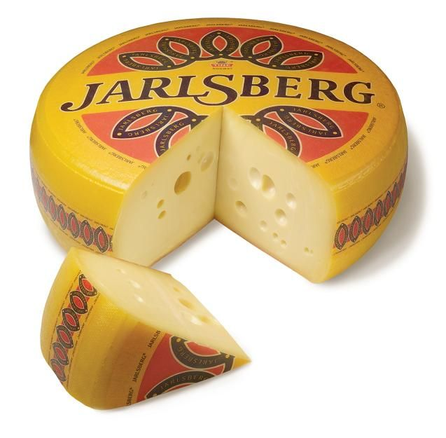 Jarlsberg is named after Count Vadel Jarlsberg. The Count's estate was on the Oslo Fjord.  This is near where the Jarlsberg cheese was first produced.