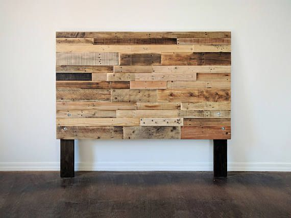 17 best ideas about queen pallet headboards on pinterest for Recycled headboards