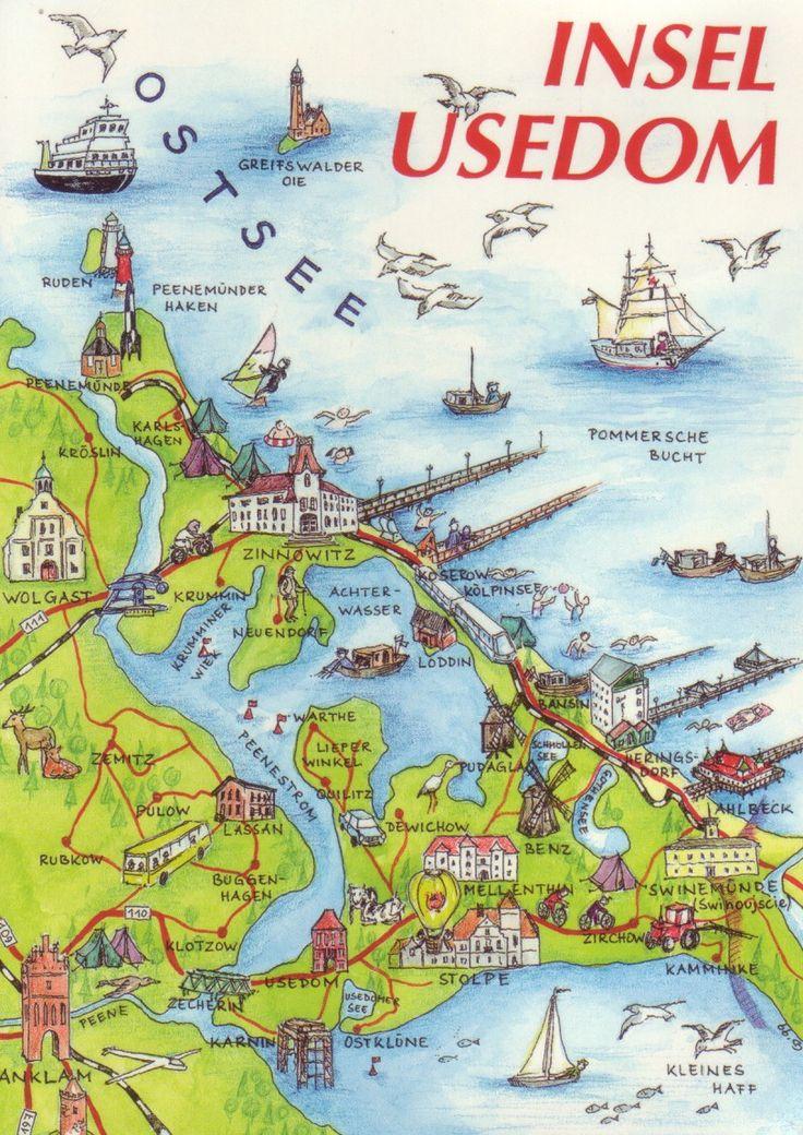Die Insel Usedom, Mecklenburg-Vorpommern, Northeastern Germany.