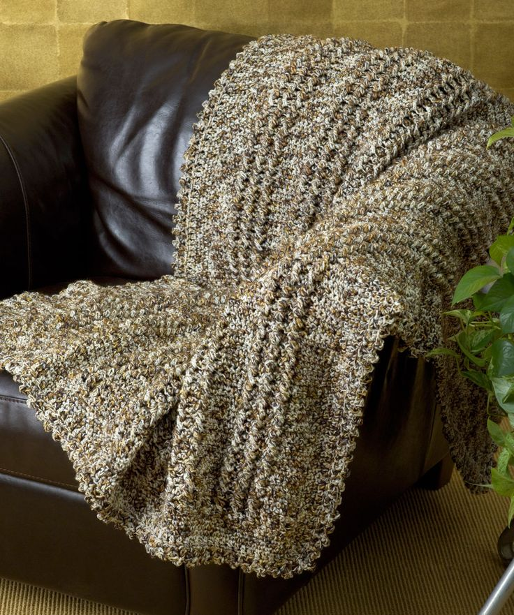 Free Crochet Pattern  Cozy Crochet Cable Throw  Easy skill level