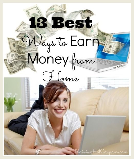 13 Best Ways to Earn Money from Home! (My Favorite Legit Survey Companies)