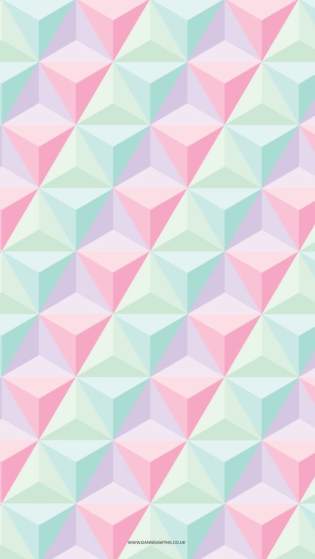 mint and pink wallpaper - photo #13