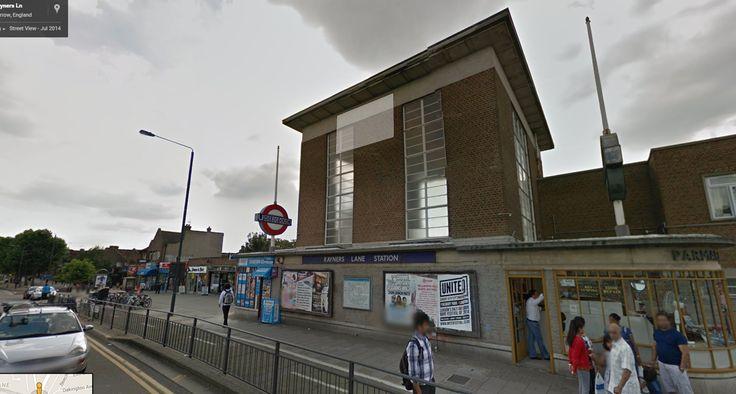 Rayners Lane Tube Station.