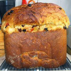 Cocinando dulce y salado: Receta de panettone en panificadora