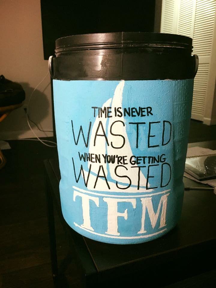 TFM wasted chug jug fraternity