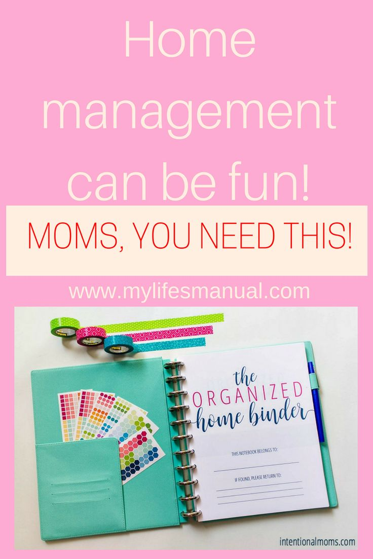 Home binder is a perfect gift for moms. Make your life stress-free have time for yourself. Let the the organized home binder guide you in running your home. #planner #homebinder #sahm (affiliate link)