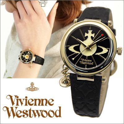ヴィヴィアンウエストウッド/Vivienne Westwoodレディース 腕時計Orb(オーブ)ブラック×ゴールド【VV006BKGD】 時計【レビューを書いて送料無料!】【新品、本物だから安心】【RCP】【楽天市場】