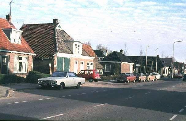 Zuiderdwarsvaart Drachten (jaartal: 1970 tot 1980) - Foto's SERC