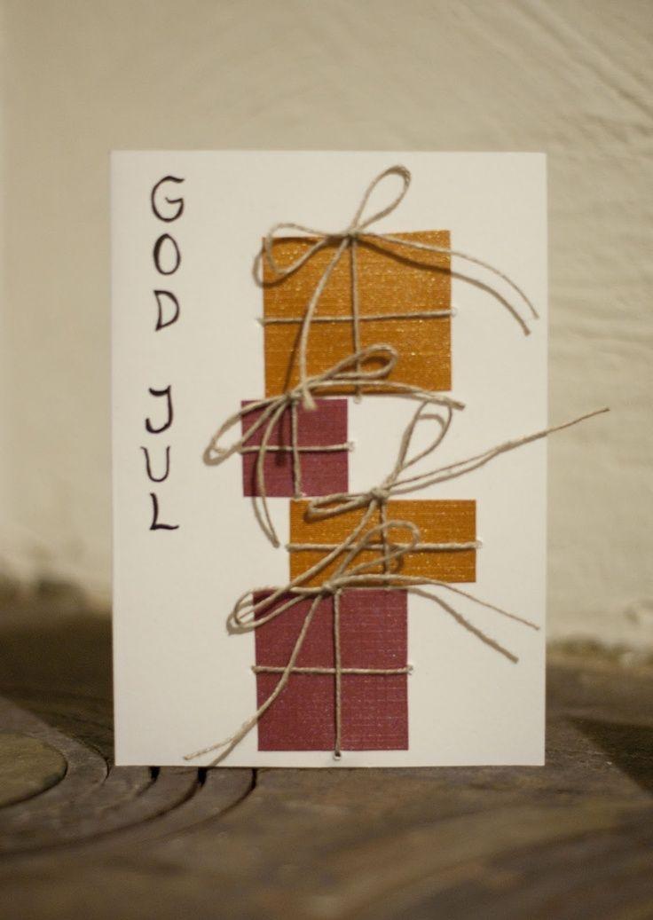 diy simple christmas cards   Visit sofiasobeide.blogspot.fi