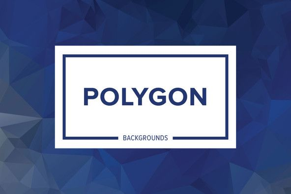 Polygon Backgrounds By Dotstudio on YouWorkForThem.