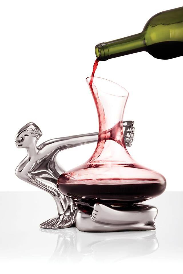 Wine Decanter - Woman