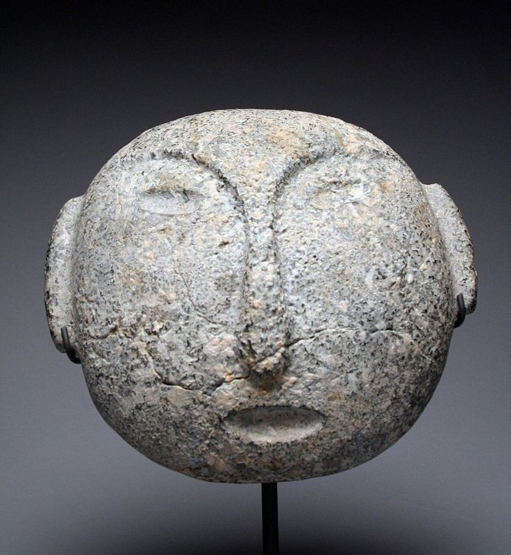 Rare Mask Mapuche Stone: Lot 0340B
