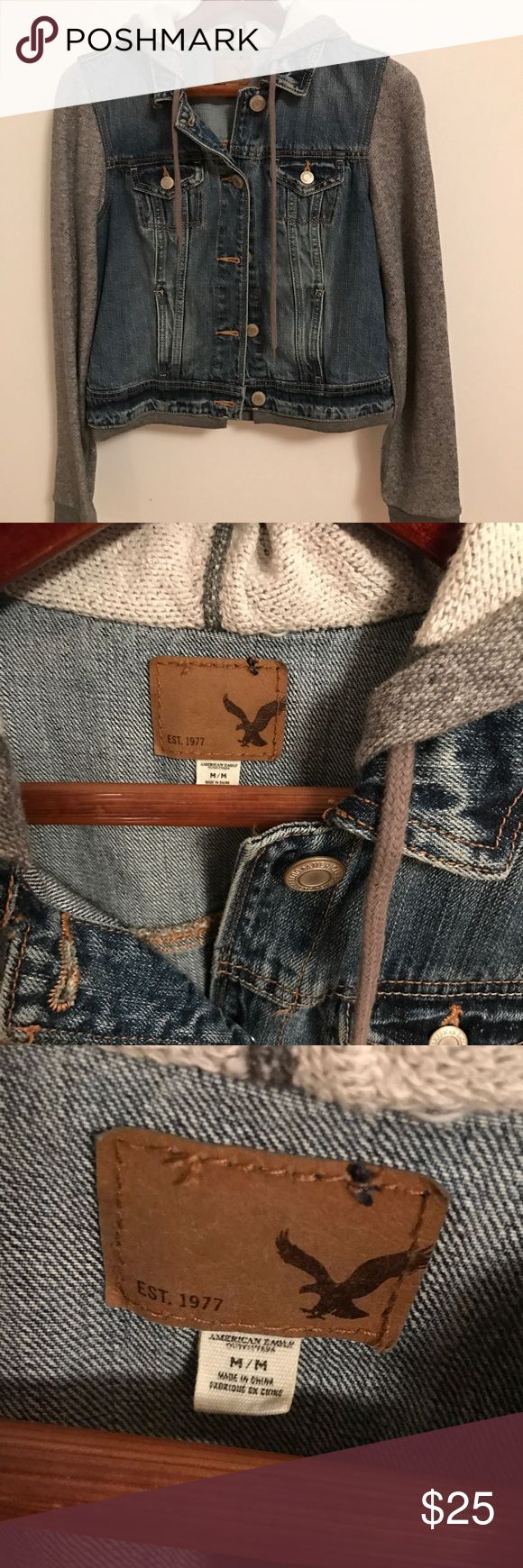 American Egale Demin jacket New no tag American Eagle Outfitters Jackets & Coats Jean Jackets