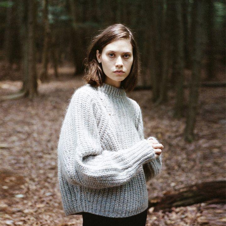 Fashion Story: Run River Isabel Marant / Newit Mohair Pullover Isabel Marant / Kiara Wool Wrap Skirt