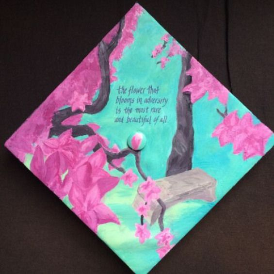 beauty and the beast graduation cap | graduation cap designs #collegegraduation #college #graduation #disney
