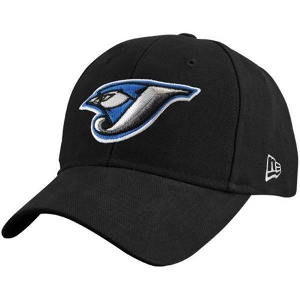 Toronto Blue Jays Black New Era 9Forty Adjustable Hitter Hat