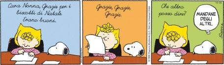 Snoopy e il Natale... l'importante è avere le idee chiare!