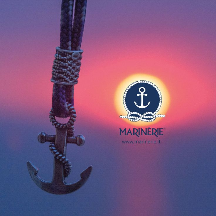 L'ancora simboleggia la sicurezza e la fedeltà Scegli il bracciale ancora in argento con cordino nautico personalizzato direttamente sul sito www.marinerie.it  #marinerie #braccialeancora