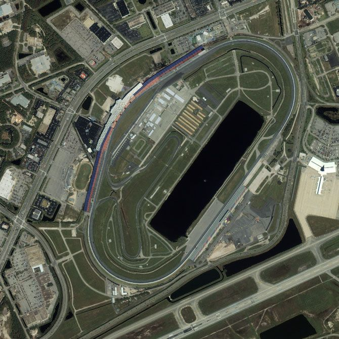 Daytona International Speedway  My favorite NASCAR circuit