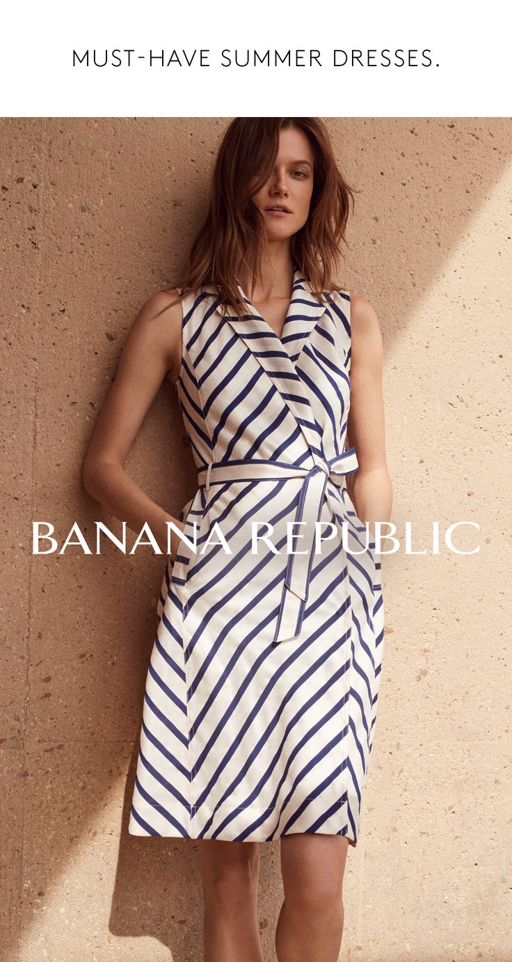 Finding the perfect summer dress is an artform. We've made it easy. Our new summer 2017 collection features sun-ready dresses and over 200 new styles for weddings, parties, dates, and vacations. Shop Banana Republic dresses.
